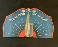 Vintage Woolworth Advertising Needle Book Kit