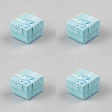 30PCS Light Blue New Wholesale Lots Jewelry Ring Earring Gift Box 40*40mm