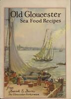 Vintage Cook Booklet Old Gloucester Seafood Recipes Frank Davis Fish Company