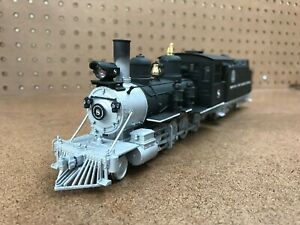Custom Painted D&RGW ON30 C-19 with Soundtraxx Sound DCC