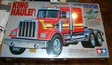 TAMIYA 1/14 KING HAULER METALLIC EDITION SEMI TRACTOR TRUCK KIT RC ITEM #56308