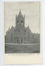 Methodist Church Dorcas St LEWISTOWN PA Vtg Mifflin County Pennsylvania Postcard