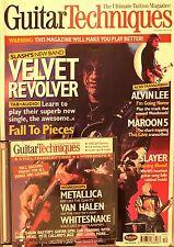 Guitar Techniques Magazine + CD Déc 2004 105 Velvet Revolver Slayer Whitesnake