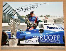 Takuma Sato SIGNED 8x10 Indy Car Photo 2017 Indianapolis 500 Winner Borg Warner