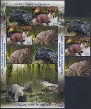 BERGKARABACH - 2013 TIERE NATURSCHUTZ 86-88 SATZ UND BLOCK ** - KARABAKH ANIMALS