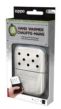 Zippo NEW 2016 Version Refillable Deluxe POLISHED CHROME Hand Warmer 40306 40323