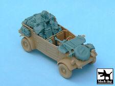 Kubelwagen accesories set for Tamiya 32503, T48033, BLACK DOG, 1:48