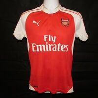 2015-2016 Arsenal Home Football Shirt, Puma, Soccer Jersey, Small Mint Condition