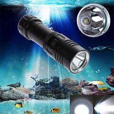 8000LM XM-L2 LED Scuba Diving Flashlight Torch 18650 Light Lamp Underwater 100m
