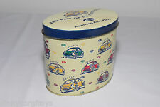 TIN BOX CAN BLECH VW VOLKSWAGEN BEETLE KAFER KAMSTEEG AUTO EXCELLENT CONDITION