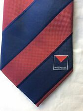 MFC Melbourne Football Club Demons Player or Member tie