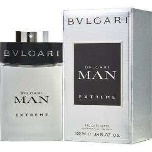 Bvlgari Man Extreme Edt Eau de Toilette Spray 100ml