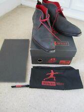 Mens Jeffrey West Masuka Dexter Black Nubuck shoes UK 9.5 worn once