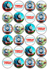 24 x Large Thomas Edible Cupcake Toppers Birthday Party Cake Decoration
