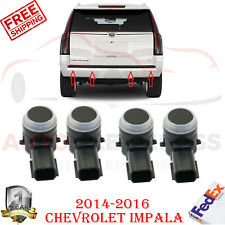 Set of 4 Rear Parking Assist Sensors For 2014-2016 Chevy GMC Cadillac
