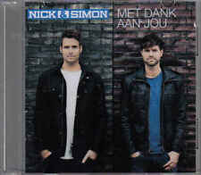 Nick&Simon-Met Dank Aan Jou Promo cd single