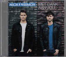 Nick&Simon-Met Dank Aan Jou Promo cd single