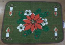 Set tavolo tavolo-Set 70er 60er 60s 70s TOVAGLIA TOVAGLIETTA AMERICANA NATALE.