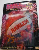 Harlem Globetrotters 75th Anniversary 2001 World Tour Program Basketball Vintage