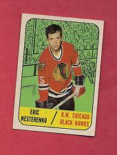 1967-68 TOPPS  # 60 HAWKS ERIC NESTERENKO  CARD