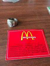 """MCDONALD'S FAMILY RING female """"NEW"""" MADE BY BALFOUR size 6"""