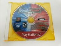 WWE SmackDown vs. Raw 2007 (Sony PlayStation 2, 2006) DISC ONLY. TESTED!