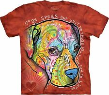 Dogs Speak Animal T Shirt KIDS Unisex The Mountain SMALL Boys Girls