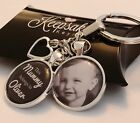 Personalised Photo Keyring - Belongs to - Mothers Day Present Birthday Gift Box