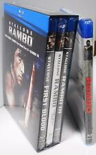Rambo Collection 1, 2, 3 & 4 - Blu-ray 4-Movie Set Sylvestor Stallone BRAND NEW