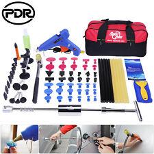 PDR 74x Paintless Dent Repair Removal Tools Slide Hammer T Bar Puller Bridge Set