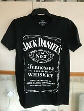Jack Daniels BIRTHDAY 2018 T-Shirt SMALL  Mens Black
