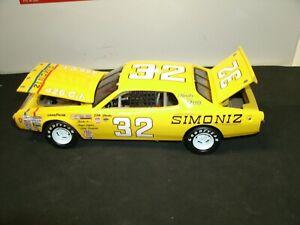 #32 DICK BROOKS 1974 SIMONIZ  DODGE CHARGER 1/24 RARE CUSTOM