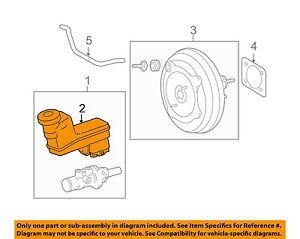 TOYOTA OEM 09-15 Venza-Brake Master Cylinder Reservoir 472200T011