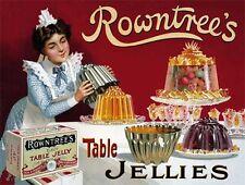 ROWNTREE'S Gelatina, vintage campagna pubblicitaria, da cucina, Cafe O