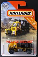2019 Matchbox #25 MBXcavator™ YELLOW / BLACK / MOC