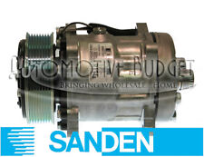 Sanden 4672 Compressor w/Clutch - NEW OEM - Freightliner Kenworth Volvo