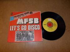 MFSB - LET'S GO DISCO -  / LISTEN - SOUL FUNK - MODERN SOUL