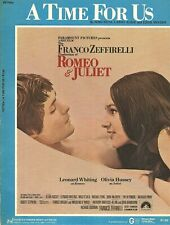 """A TIME FOR US~ NINO ROTA, LARRY KUSIK, & EDDIE SNYDER 1968 FROM """"ROMEO & JULIET"""""""