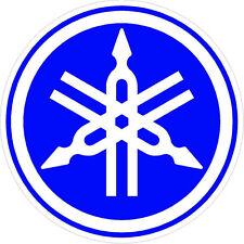 "#543 (2) 2"" Yamaha Logo Motorcycle Drum Snowmobile decal sticker Purple Blue"