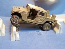 1 x 21st Century 1/18 Ultimate Soldier BBI Concrete (Resin ) Barrier