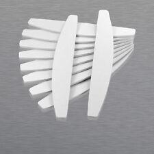 50x Feilen 100/180 Trapez Maniküre Trapez weiß Nagelfeilen Nagel Feile Nails