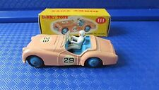 DINKY 111 TRIUMPH TR2 SPORTS WITH ORIGINAL BOX MADE IN ENGLAND MECCANO