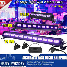 6/9/12LED UV Wall Wash Light Bar Blacklight DJ Party Stage Christmas Effect Lamp