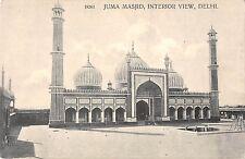 B96109 juma masjid interior view delhi  india