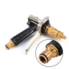 Brass Metal High Pressure Auto Car Wash Cleaning Water Gun Sprayer Hose Nozzle