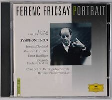 FERENC FRICASY: Portrait Beethoven No 9 DGG West Germany Full Silver CD NM