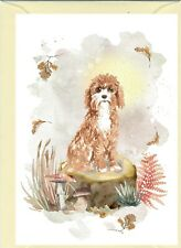"""Cavapoo / Doodle Dog (4""""x6"""") Blank Card ideal for any occasion by Starprint"""