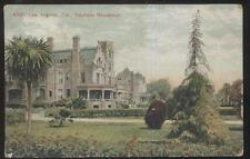 Postcard Los Angeles California/Ca Stephens Mansion w/Turret Tower view 1907