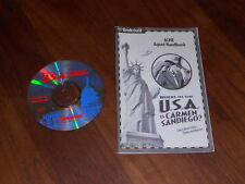 Where in the USA is Carmen Sandiego? Broderbund Windows and Mac RARE