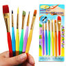 6pcs Professional Art Painting Brushes Acrylic Oil Watercolor Artist Paint Brush